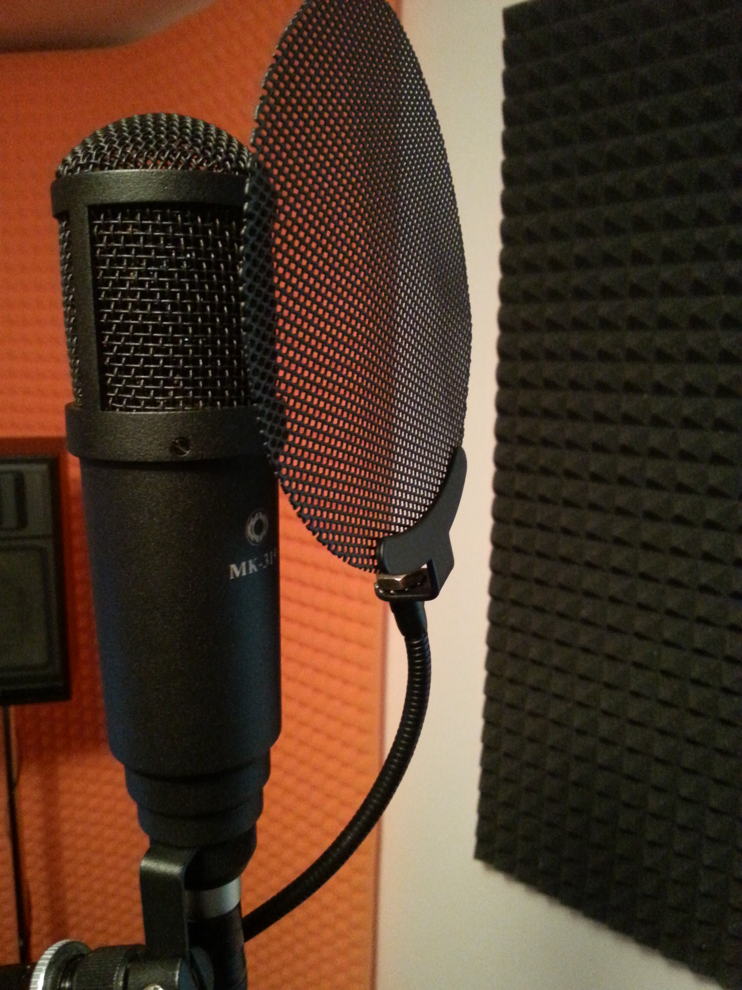 Kultowy, ciepło brzmiący mikrofon Oktava Mk319.